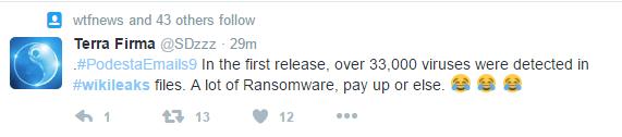 wikileaksransomware